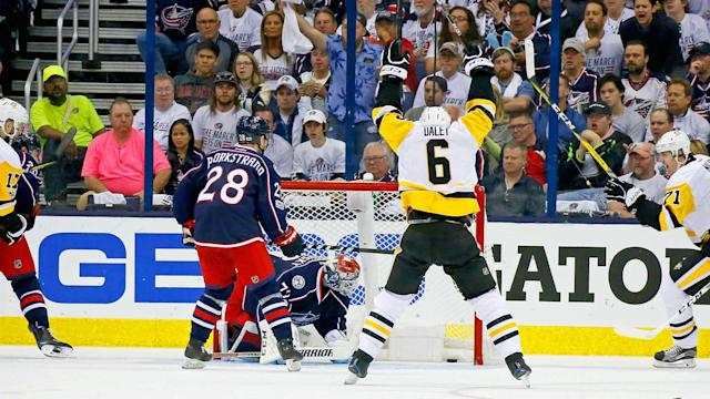 Pittsburgh took a 3-0 lead on the road against Columbus on Sunday. The Penguins had a comeback for everything the Blue Jackets threw at them.