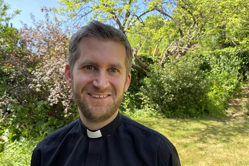 James Pacey is a vicar and hospital chaplain: Courtesy of James Pacey