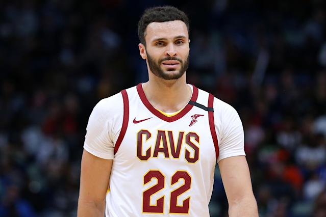 Cavaliers forward Larry Nance Jr. has Crohn's disease and a suppressed immune system, which puts him at a higher risk for contracting the coronavirus. (Jonathan Bachman/Getty Images)