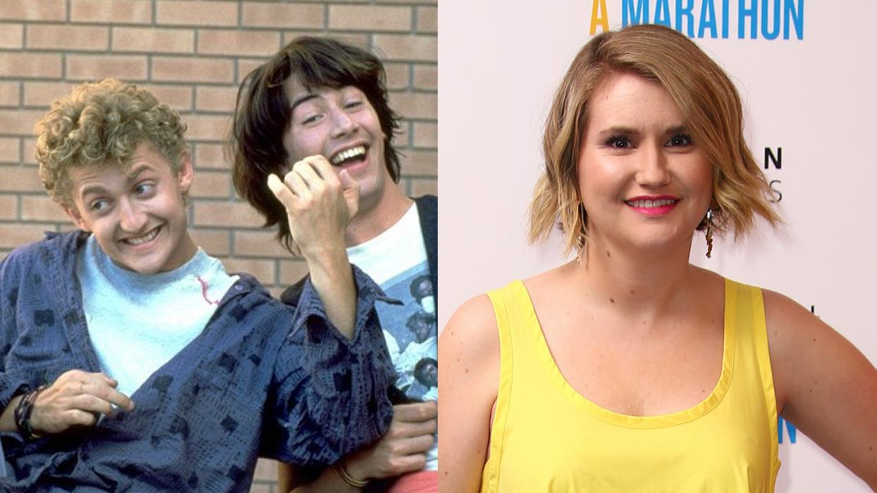 Jillian Bell will portray a couples therapist in comedy sequel 'Bill & Ted Face the Music'. (Credit: Orion Pictures/Joel C Ryan/Invision/AP)