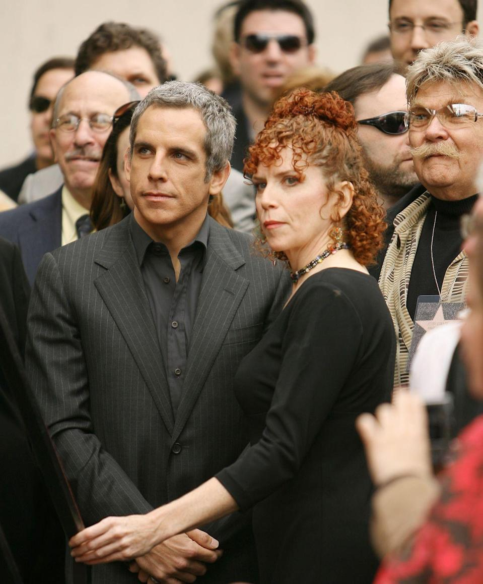 <p>Ben Stiller and his sister, Amy Stiller, followed in the footsteps of their famous comedic parents and share a striking resemblance. With similar noses and chins, there's no doubt the two are siblings. </p>
