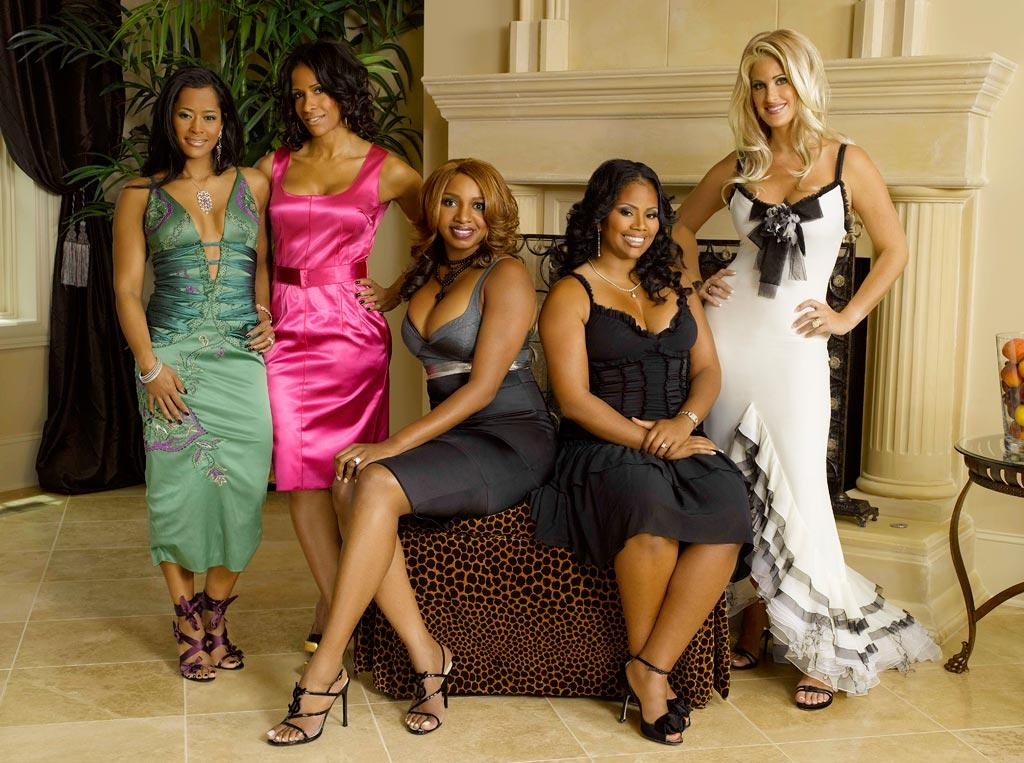 """The cast of <a href=""""/real-housewives-of-atlanta/show/43337"""">The Real Housewives of Atlanta</a>."""