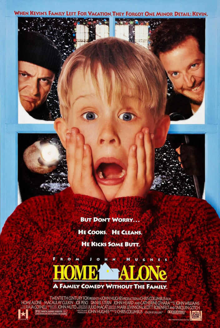 Poster for the 1990 movie 'Home Alone'. (Credit: 20th Century Fox)