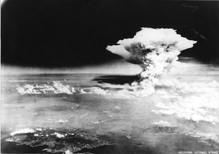 """Seventy-five years ago, on Aug. 6, 1945, the United States dropped an atomic bomb on the city of Hiroshima in Japan. <span class=""""copyright"""">(Hiroshima Peace Memorial Museum )</span>"""