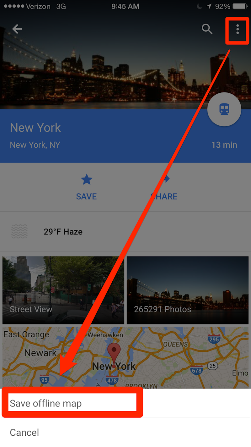 this awesome trick lets you use google maps even when you