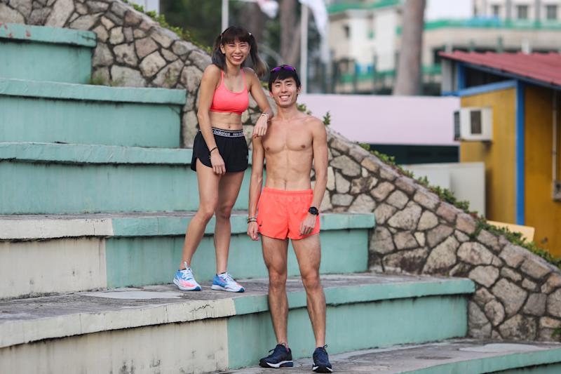Singapore #Fitspo of the Week: Soh Rui Yong and Romaine Soh (PHOTO: Cheryl Tay)