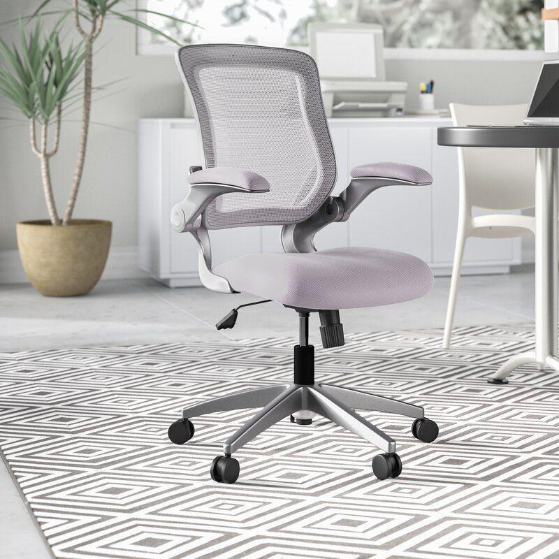 """<p><strong>Ebern Designs</strong></p><p>wayfair.com</p><p><strong>$147.90</strong></p><p><a href=""""https://go.redirectingat.com?id=74968X1596630&url=https%3A%2F%2Fwww.wayfair.com%2Ffurniture%2Fpdp%2Febern-designs-balogh-ergonomic-task-chair-ebdg1929.html&sref=https%3A%2F%2Fwww.cosmopolitan.com%2Flifestyle%2Fg33973696%2Fbest-ergonomic-office-chair%2F"""" rel=""""nofollow noopener"""" target=""""_blank"""" data-ylk=""""slk:Shop Now"""" class=""""link rapid-noclick-resp"""">Shop Now</a></p><p>A mesh back will feel super breathable when you're on it for the whole day, and this sleek gray one also has lumbar support and swivels and tilts in so many different directions no matter how you're sitting. </p>"""