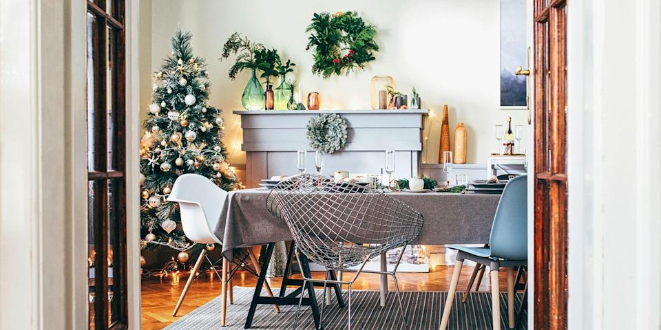 """<p>The charm of a fresh-cut tree has always been tricky to replicate — until now. If a family trip to the tree farm just isn't possible this year, these amazing artificial Christmas trees help bring the holiday magic home without any of the hassles. (You can even buy that amazing <a href=""""https://www.amazon.com/Scentsicles-Christmas-Tree-Bottle-Bundle/dp/B07HFXK221/?tag=syn-yahoo-20&ascsubtag=%5Bartid%7C2089.g.334%5Bsrc%7Cyahoo-us"""" rel=""""nofollow noopener"""" target=""""_blank"""" data-ylk=""""slk:Christmas tree smell"""" class=""""link rapid-noclick-resp"""">Christmas tree smell</a>, too.)</p><p>The best artificial Christmas trees, above all, are ones that are both easy to assemble and take down year after year. Many come apart in a couple of pieces, but a few newer models now have a hinged design that joins together in just a single snap. Top-rated trees ideally also have large branches with a mix of tufted tips that look and feel just like the real thing, but they can be bent any which way to support your ornament display. </p><p>Many trees also come prelit with LED lights, and if you are starting from square one with buying your first faux Christmas tree, we definitely recommend getting this kind — simply because you won't have to buy a separate strand of lights.</p><p>Available prelit or bare, and in all shapes, sizes, and tree types, these 15 artificial Christmas trees will maintain their high-quality display for years of holiday enjoyment.<br></p>"""