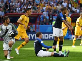 World Cup 2018: Australia manager left fuming with referee's 'mistake' in historic VAR ruling