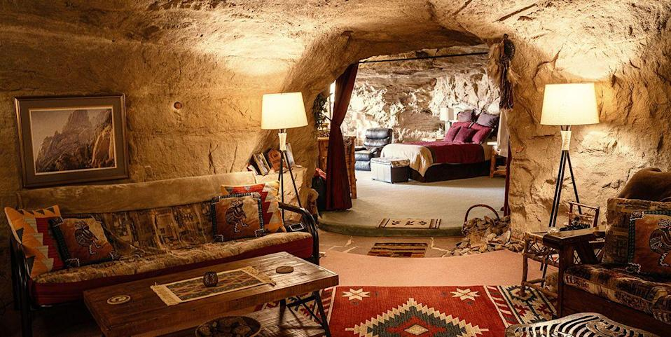 This Hotels.com Booking Lets You Live Under a Literal Rock During Election Week