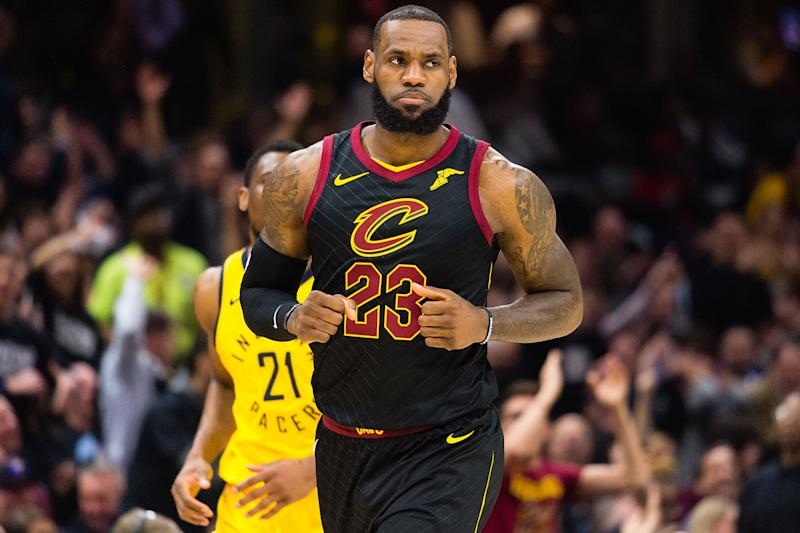 LeBron James Fights Back Tears When Addressing Death of Coach Gregg Popovich's Wife Erin
