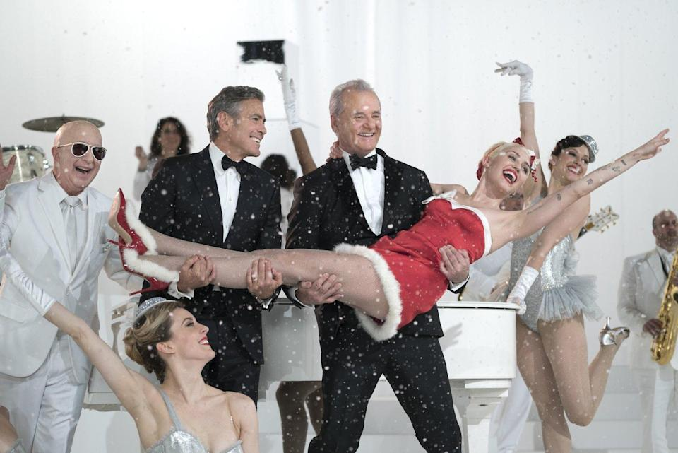 Bill Murray is worried no one will show up for his Christmas special, but George Clooney, Miley Cyrus, Chris Rock, and basically the rest of Hollywood make it out for this Netflix production. Sofia Coppola directed.