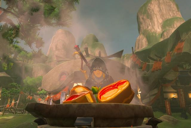 Image result for zelda botw screenshots cooking