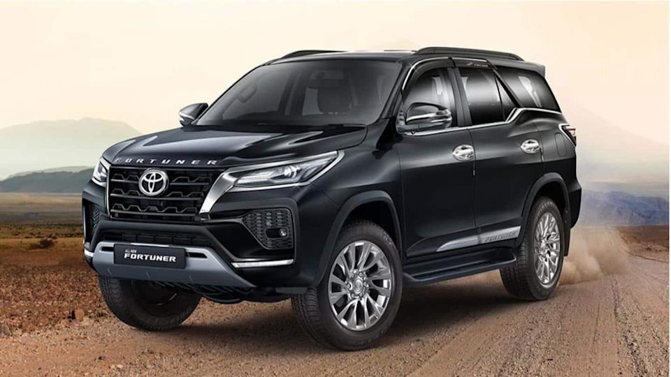 Toyota introduces a limited-edition styling package for the 2021 Fortuner