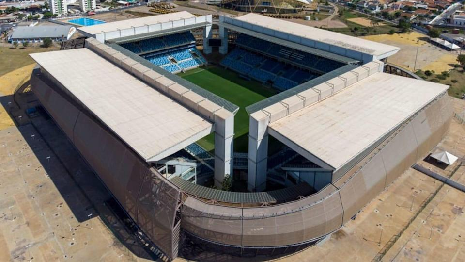 Copa América na Arena Pantanal. | Getty Images/Getty Images