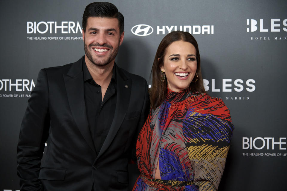 Paula Echevarria, Miguel Torres attends the 5h Anniversary of Instyle Magazine at Bless Hotel in Madrid, Spain on Dec 3, 2019 (Photo by Carlos Dafonte/NurPhoto via Getty Images)