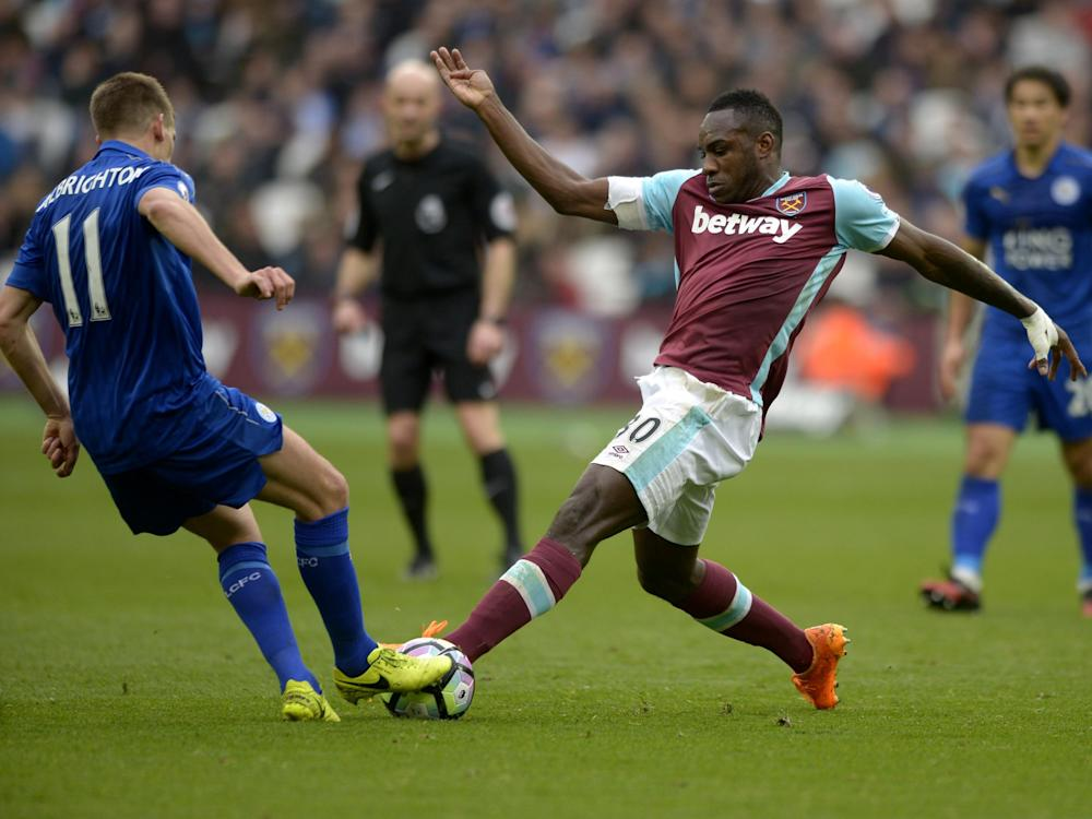 Antonio suffered an injury in the 3-2 defeat to Leicester: Getty