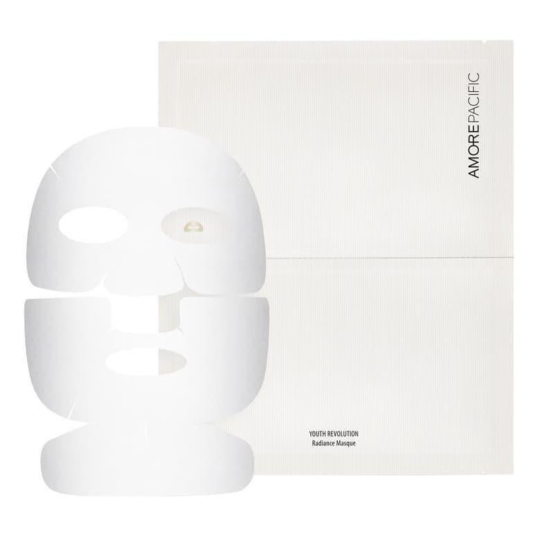 "<p>It may seem like $25 is a lot to spend on a single sheet mask, but not so much when you consider how efficiently this triple-layered option brightens and hydrates in about 15 minutes. Green tea is one of the main components of Amorepacific's Youth Revolution Radiance Sheet Masque, refreshing and protecting skin, but it's the white peony extract's ability to undo dullness that makes it especially worth it.</p> <p><strong>$25</strong> (<a href=""https://shop-links.co/1701788042523293470"" rel=""nofollow noopener"" target=""_blank"" data-ylk=""slk:Shop Now"" class=""link rapid-noclick-resp"">Shop Now</a>)</p>"