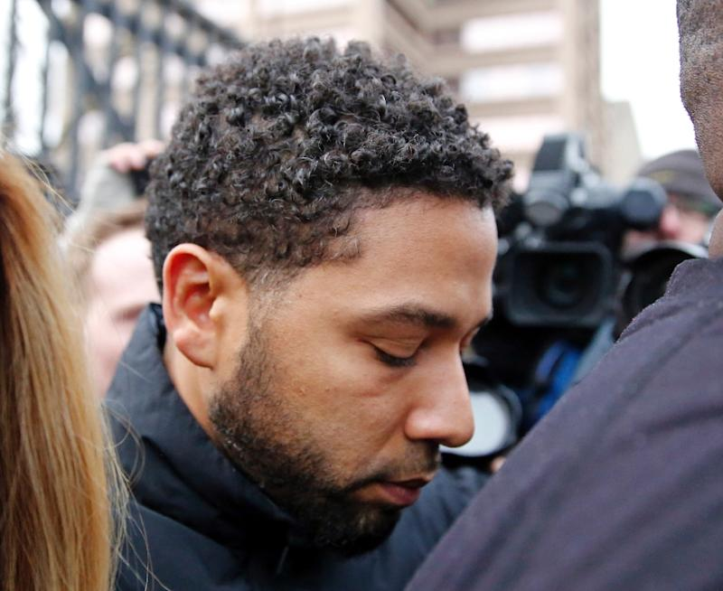 Police accuse Jussie Smollett of staging a hate attack for personal gain