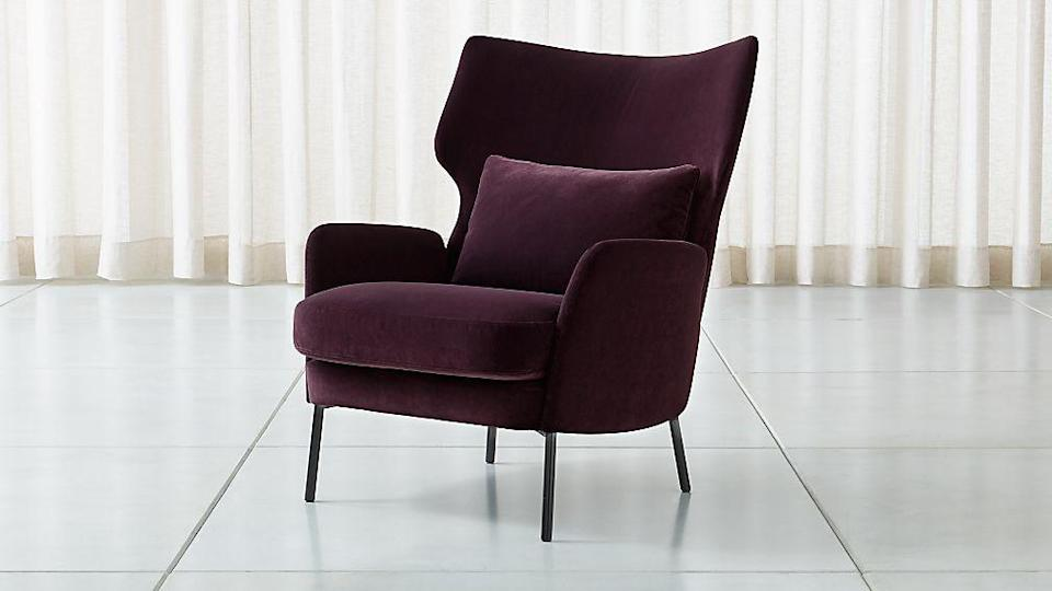 "<p><a class=""link rapid-noclick-resp"" href=""https://go.redirectingat.com?id=74968X1596630&url=https%3A%2F%2Fwww.crateandbarrel.com%2Falex-bordeaux-velvet-accent-chair%2Fs131133&sref=https%3A%2F%2Fwww.redbookmag.com%2Fhome%2Fg35362432%2Fbest-online-furniture-stores-websites%2F"" rel=""nofollow noopener"" target=""_blank"" data-ylk=""slk:BUY NOW"">BUY NOW</a></p><p><strong>Alex Bordeaux Velvet Accent Chair, <em>$1,099</em></strong></p><p>You already know you can count on <a href=""https://go.redirectingat.com?id=74968X1596630&url=https%3A%2F%2Fwww.crateandbarrel.com%2F&sref=https%3A%2F%2Fwww.redbookmag.com%2Fhome%2Fg35362432%2Fbest-online-furniture-stores-websites%2F"" rel=""nofollow noopener"" target=""_blank"" data-ylk=""slk:Crate & Barrel"" class=""link rapid-noclick-resp"">Crate & Barrel</a> for high-quality, long-lasting furniture that's totally stunning and classic, but <em>just in case</em> you didn't know you can shop the store's selection online, now you know. </p>"