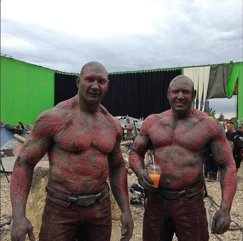 'Guardians of the Galaxy' Behind-the-Scenes Pics Celebrate ...