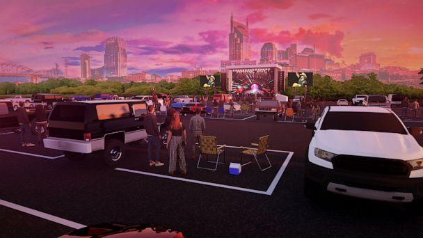 PHOTO: A rendering of the concert spacing is seen here. (Courtesy of Live Nation)