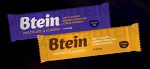 Btein Bars are high in protein but made with Low GI (Glycemic Index) natural sugars, which help people maintain healthy blood sugar levels.