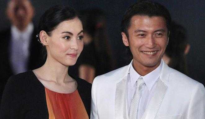Actor Nicholas Tse (right) with then wife Cecilia Cheung in 2011. Photo: K. Y. Cheng