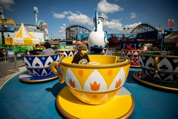 Playland is set to reopen on weekends starting June 11 with the potential for expanded days and hours later in the summer. (Ben Nelms/CBC - image credit)
