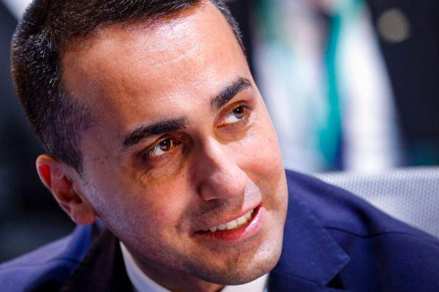 Host and Italian Minister of Foreign Affairs Luigi Di Maio speaks during a meeting of the US-led coalition against the Islamic State (IS) group, at the Fiera di Roma, in Rome, as part of US Secretary of State Antony Blinken's three-nation tour of Europe, on June 28, 2021. (Photo by GIUSEPPE LAMI / various sources / AFP) (Photo by GIUSEPPE LAMI/ANSA/AFP via Getty Images) (Photo: GIUSEPPE LAMI via Getty Images)