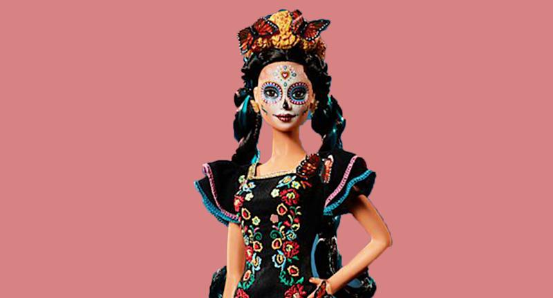 Mattel's 'Day of the Dead' Barbie has been accused of cultural appropriation. [Photo: Mattel]