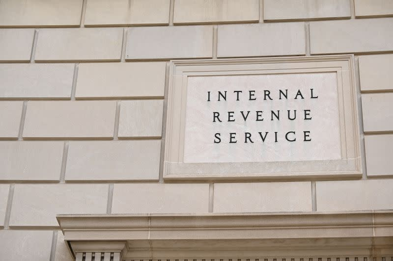 FILE PHOTO: The Internal Revenue Service building is seen in Washington