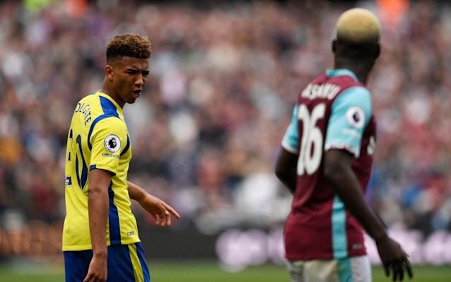 <span>West Ham played out a goalless draw with Everton at the London Stadium on Saturday</span> <span>Credit: REUTERS </span>