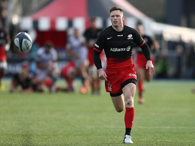 Saracens' wing Chris Ashton (AFP Photo/JUSTIN TALLIS)