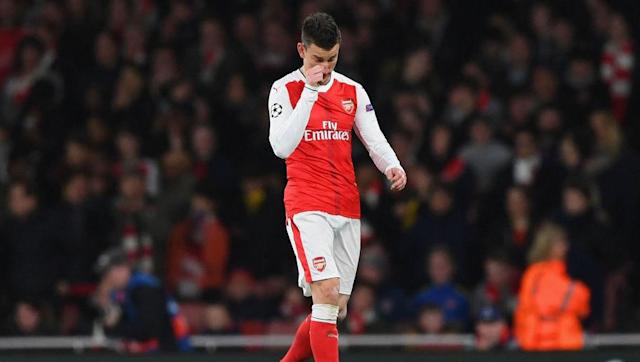 <p>Based off how they've all performed this season, the second centre-half spot goes to the lesser of three evils.</p> <br><p>By his own standards, Laurent Koscielny has had a poor season, but Shkodran Mustafi hasn't looked like the player fans thought he'd be and has looked shaky in his debut season, and over in Manchester, Nicolas Otamendi has had more poor games than he's had great ones.</p> <br><p>Koscielny gets in on the basis that he's been pretty solid for the Gunners in previous seasons.</p>
