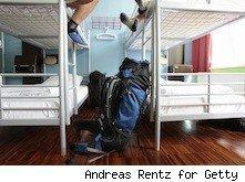 youth hostel bunk beds - not just for youths anymore
