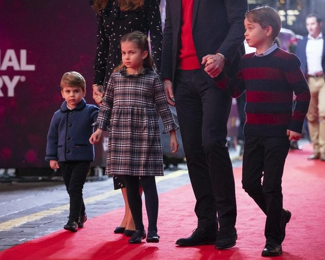 Louis, Charlotte and George at The Palladium