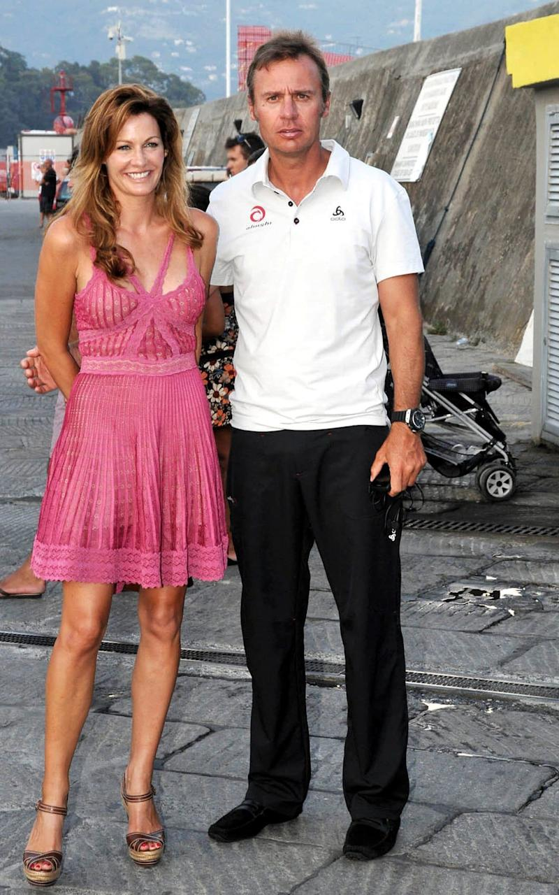 Ernesto Bertarellli and wife Kirsty - Credit: Rex