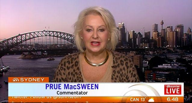 Abbott is a scapegoat, Prue MacSween says. Source: Sunrise