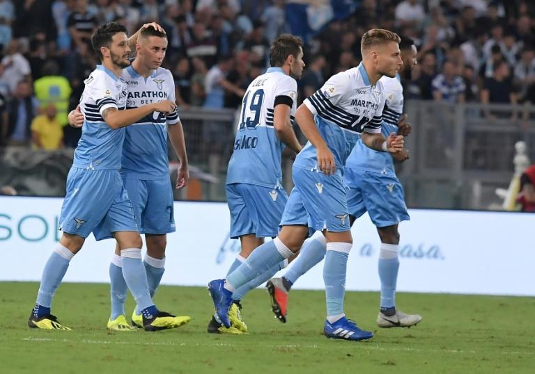 Lazio get first points of Serie A season after Spaniard Alberto Luis scores the winner against Frosinone