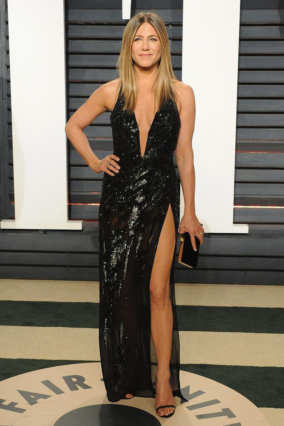 <p>Jennifer Aniston works hard to stay in shape, but her approach is still laid back. At 51, the actress looks strong and confident with glowing skin - and doesn't take fitness too seriously. Here are the health and wellness habits she swears by.</p>