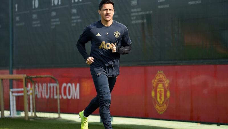 Alexis Sanchez Transfer News: Manchester United Forward Plays Friendly Behind Closed Doors Ahead of Proposed Loan Move to Inter Milan