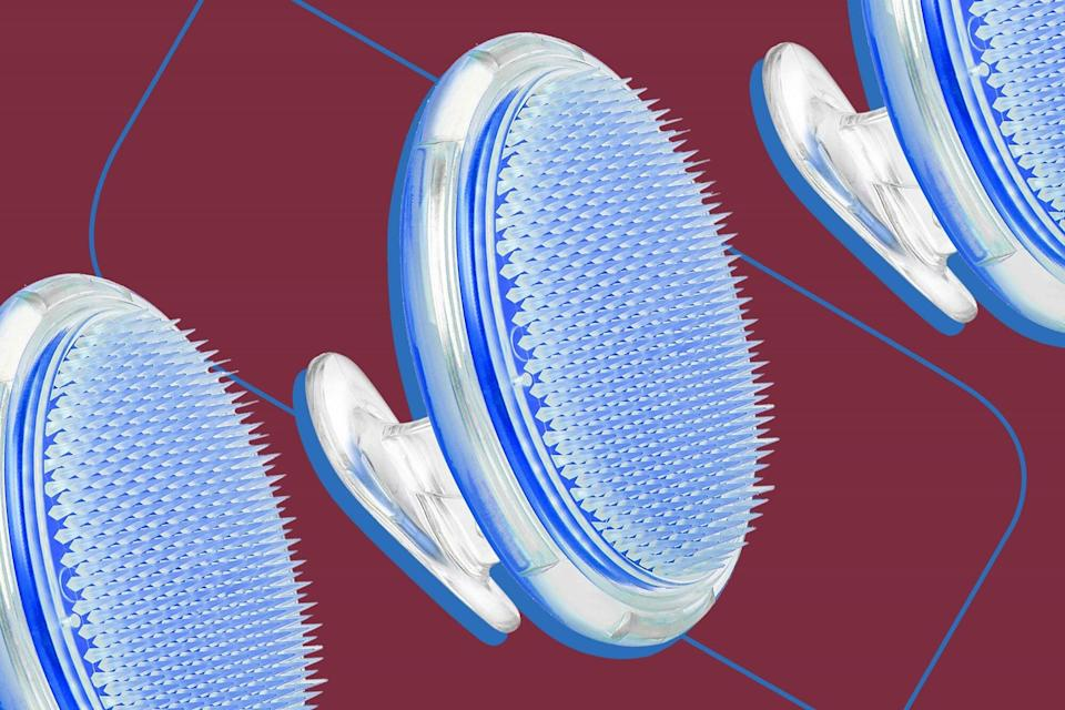 This Exfoliating Brush Took the Skin on My Legs From Chicken to Clear