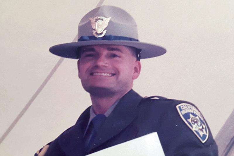 California Highway Patrol officer Jay Brome. (Photo: Courtesy of Jay Brome)