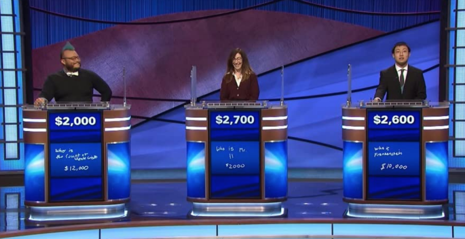 """<p>If you pass the first round of auditions, you'll find out a couple of weeks later and be asked to <a href=""""https://www.jeopardy.com/be-on-j/faqs"""" rel=""""nofollow noopener"""" target=""""_blank"""" data-ylk=""""slk:play a &quot;mock version of the game&quot;"""" class=""""link rapid-noclick-resp"""">play a """"mock version of the game""""</a> with other hopefuls. During this round, you'll be tested on your technical knowledge of <em>Jeopardy!</em> and will be asked about your personal life.</p>"""