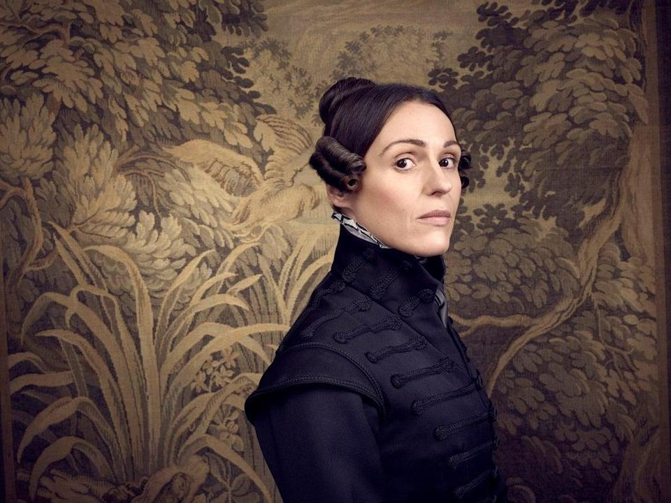 Suranne Jones as the character Anne Lister (Jay Brooks/BBC One) (PA Media)