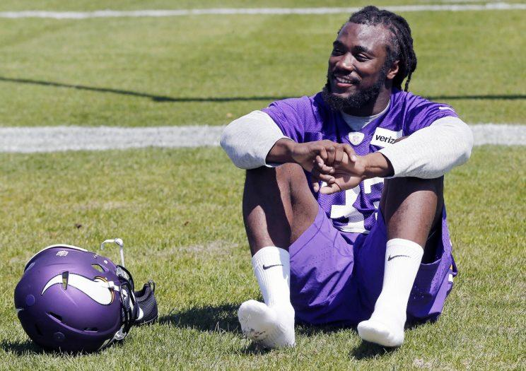 Rookie running back Dalvin Cook will be one of the most-watched players in Vikings camp. (AP)