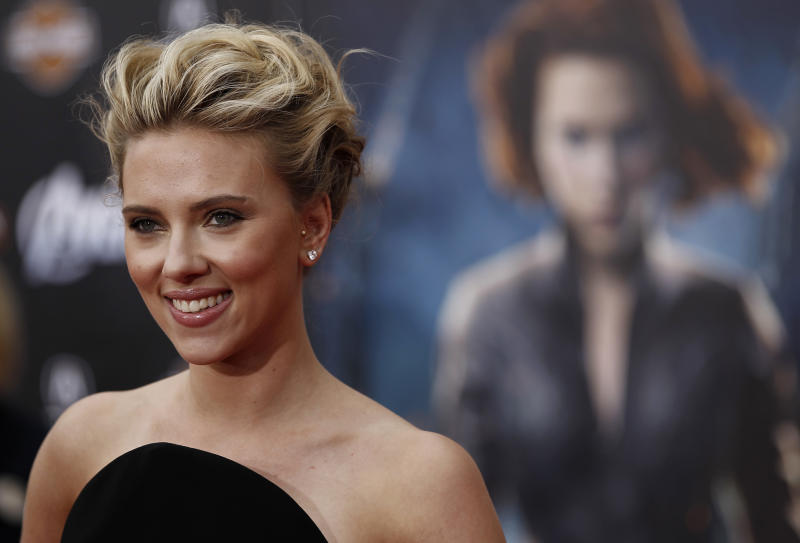 Actress Johansson sues over French book
