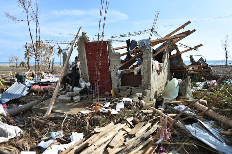 Some 30 percent of buildings previously used as polling centers have been partially damaged or destroyed in areas of the country that were hard-hit by hurricane Matthew (AFP Photo/Hector Rematal)