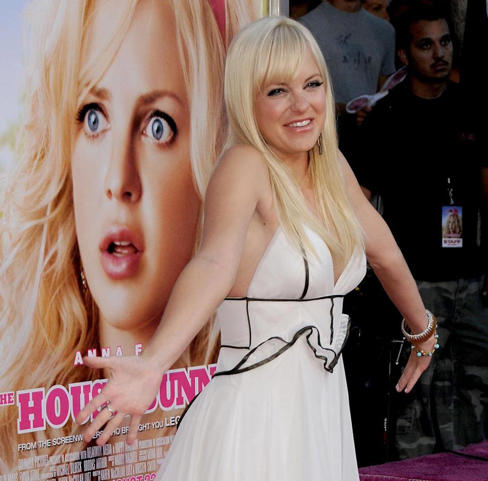 "<a href=""http://movies.yahoo.com/movie/contributor/1800506130"">Anna Faris</a> at the Los Angeles Premiere of <a href=""http://movies.yahoo.com/movie/1809921361/info"">The House Bunny</a> - 08/20/2008"